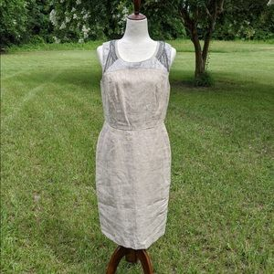 NWT Ann Taylor loft lined dress with sequins 8